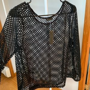 Brand new mesh rave top